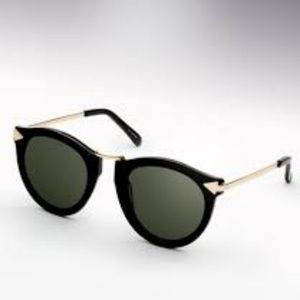 Karen Walker Harvest Sunglasses (Black)